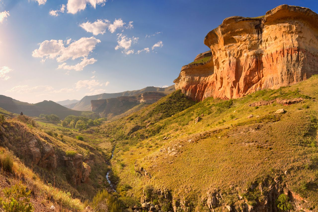 Golden Gate Highlands National Park in South Africa