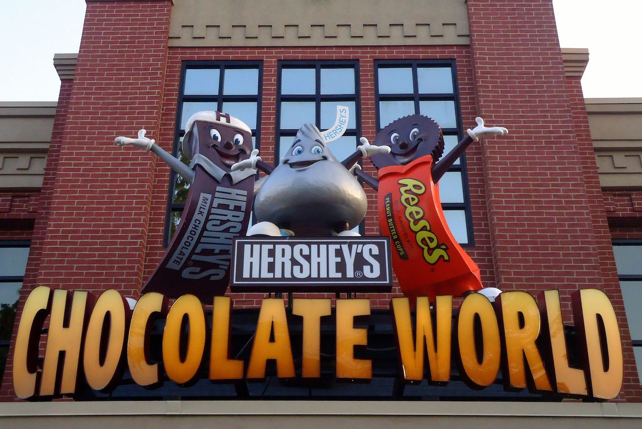Hersheypark sign