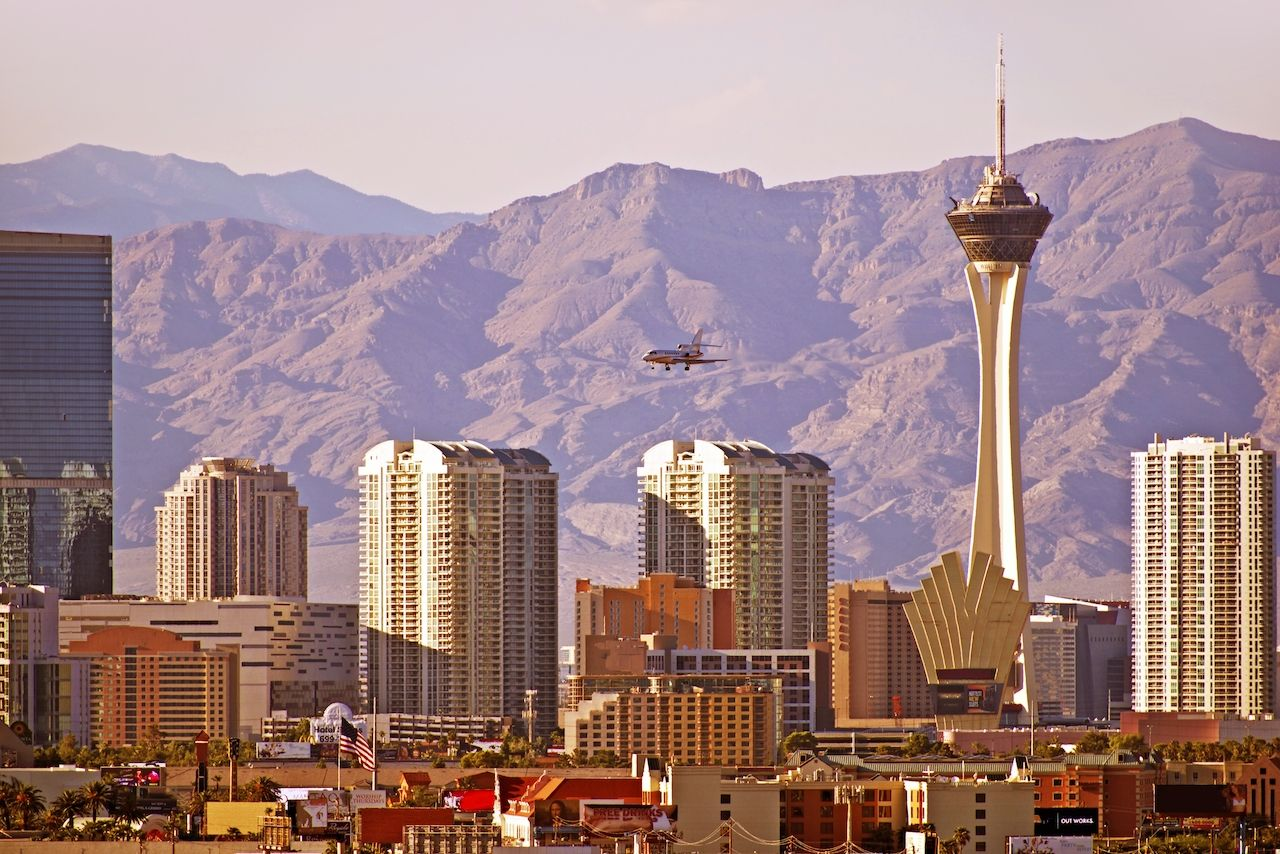 Mountains and urban hikes make Las Vegas one of the best places to visit in fall