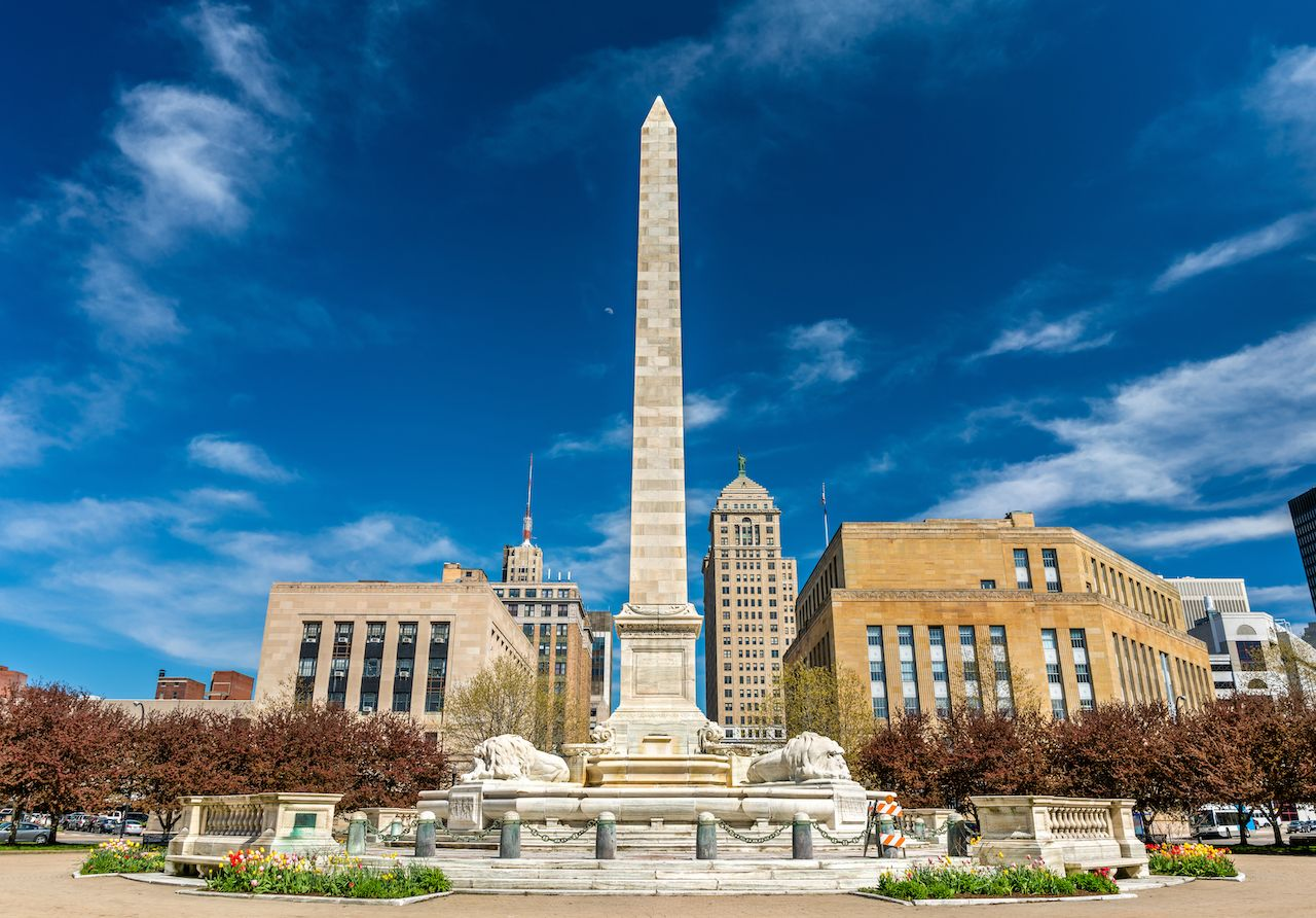 McKinley Monument on Niagara Square in Buffalo