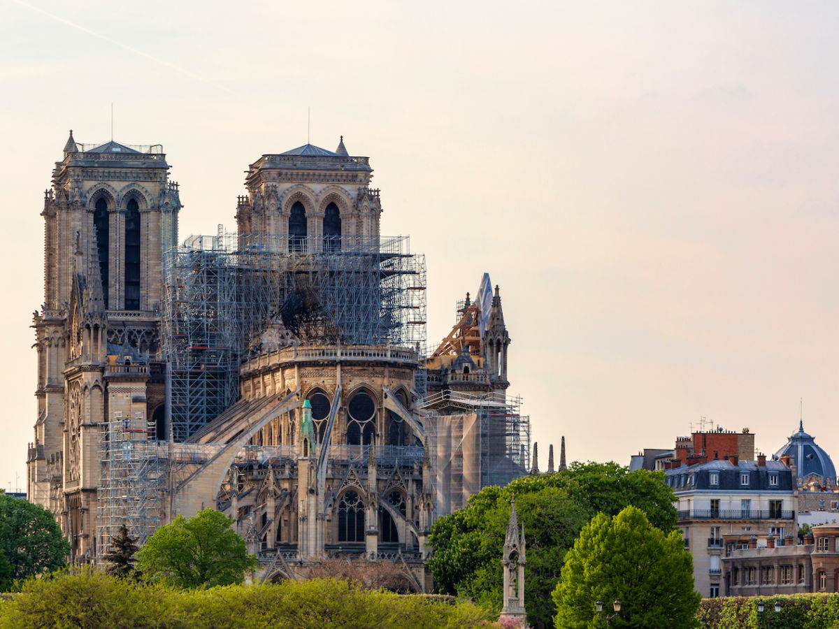 Lead poisoning concerns delay Notre Dame restoration