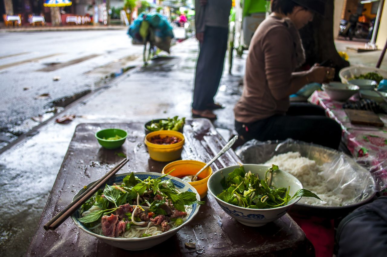 Pho on the street