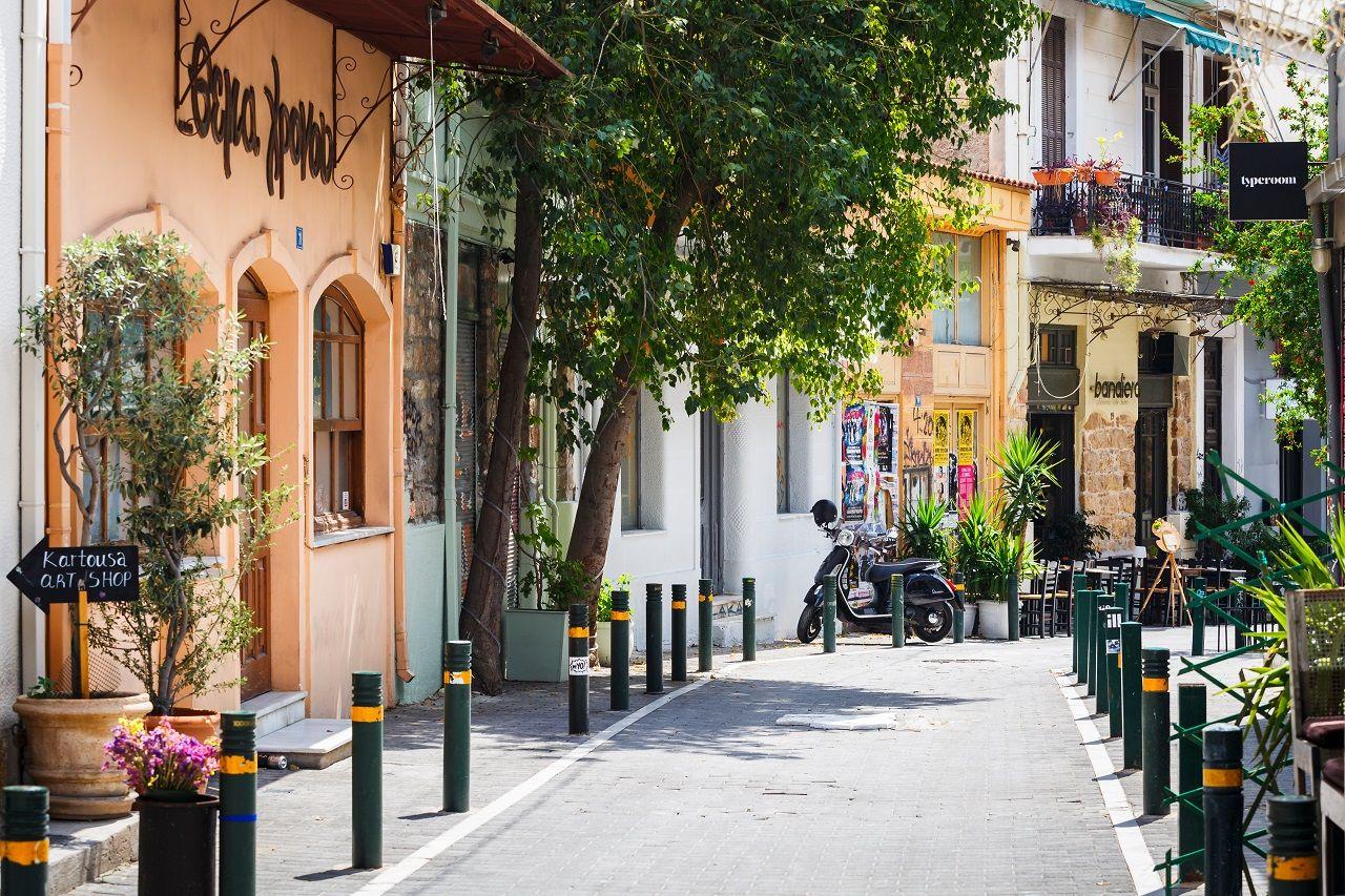 Psyri, Athens