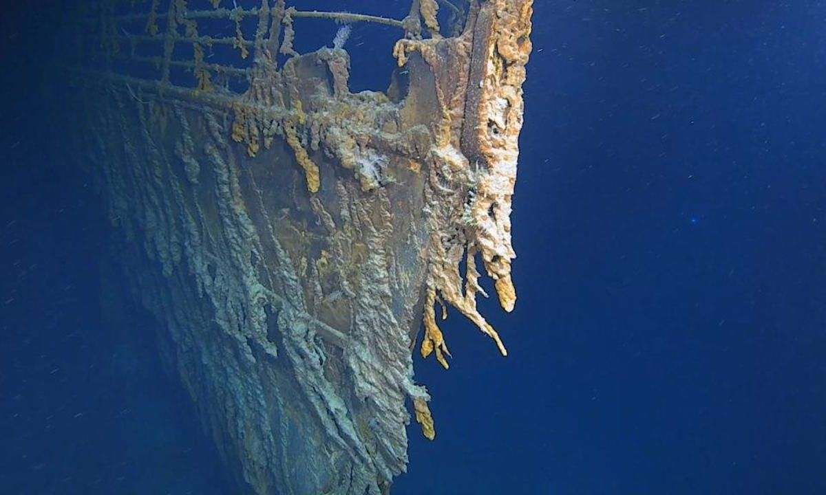Titanic divers discover the shipwreck is decaying at an alarming rate