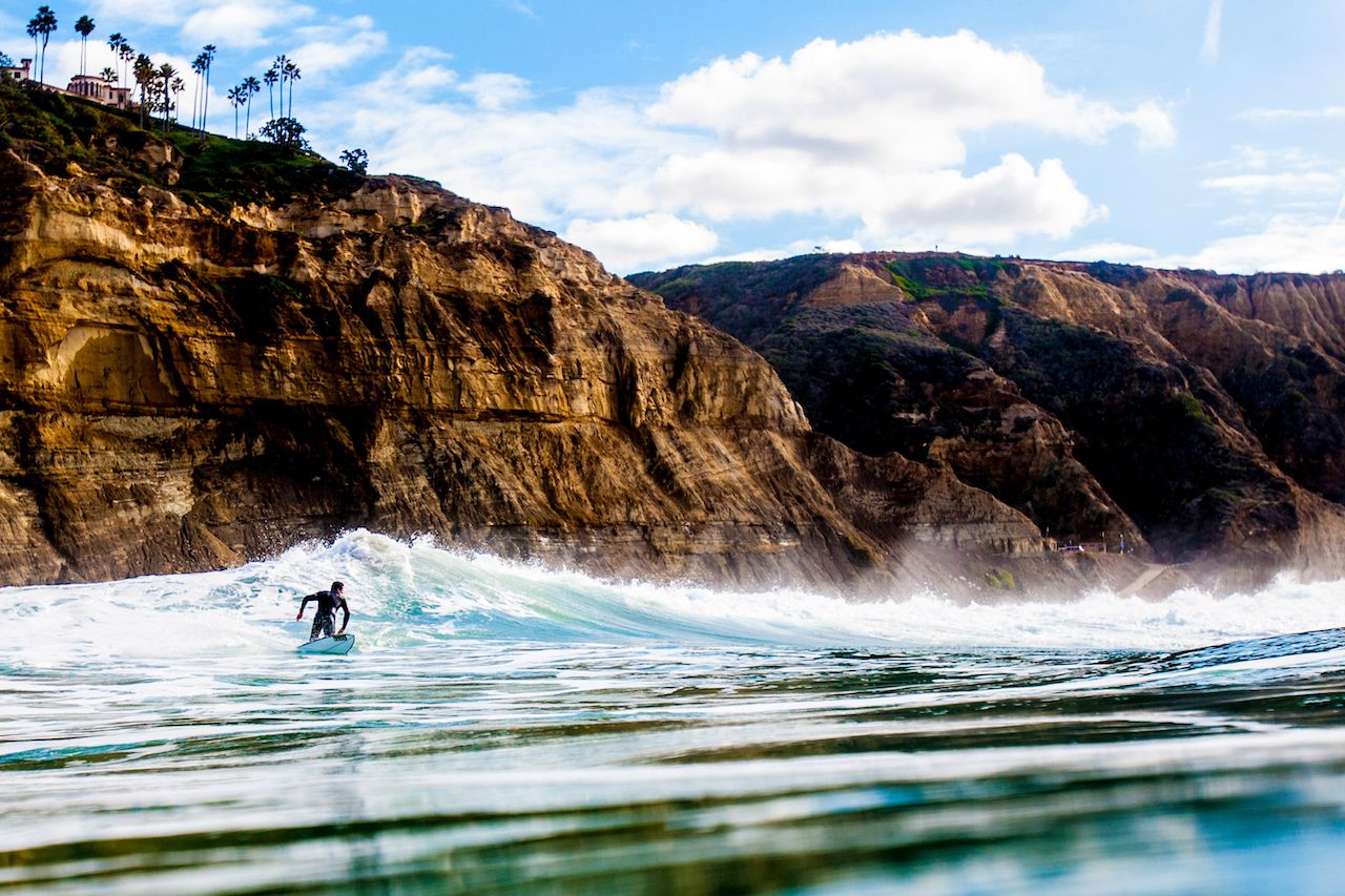 Miles of beaches make San Diego one of the best places to visit in fall