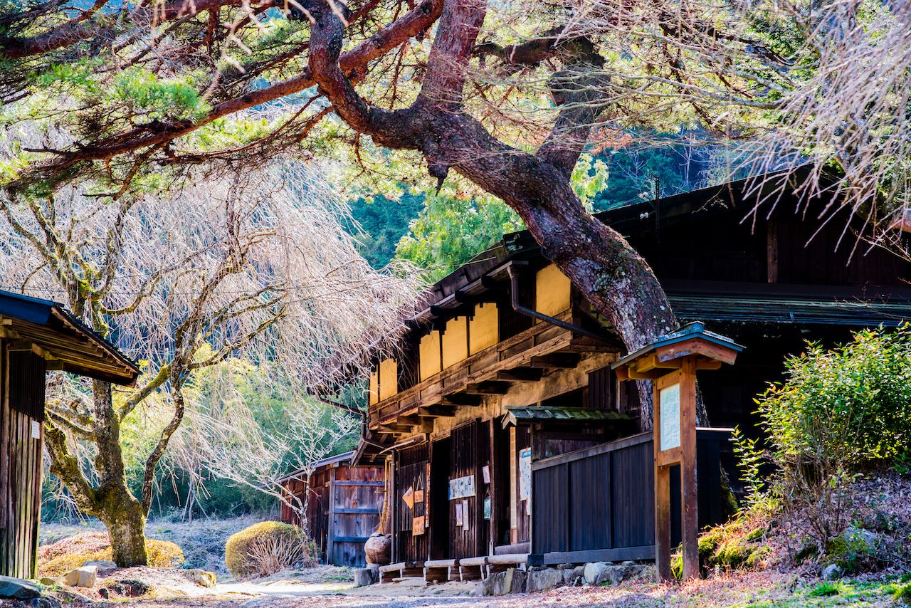 A teahouse in Magome Juku