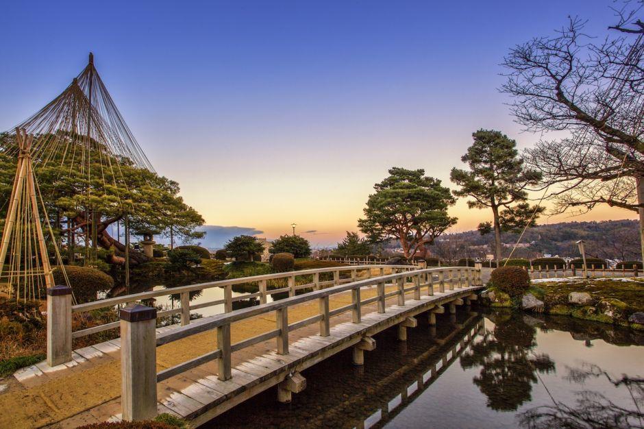 Kenrokuen in Kanazawa