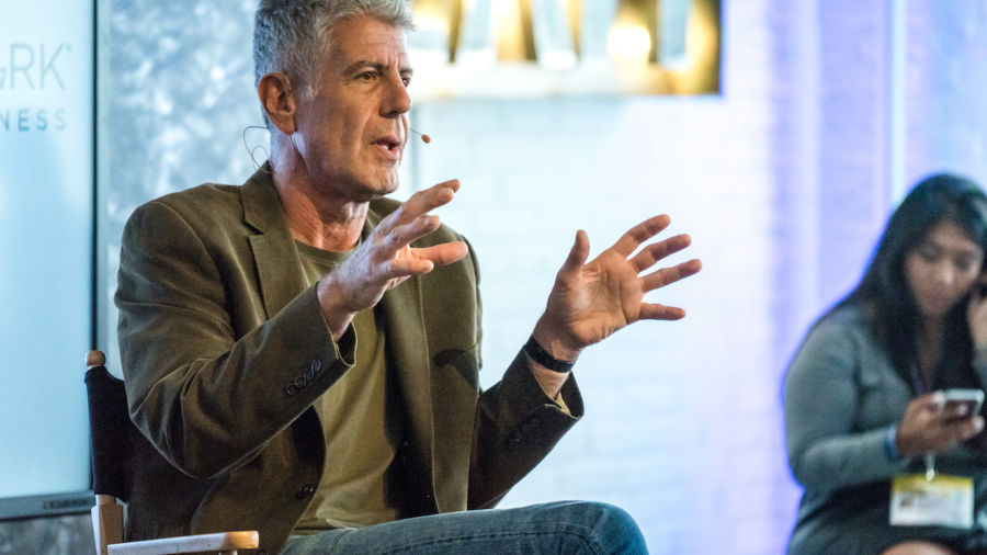 Anthony Bourdain's belongings will be auctioned off for charity