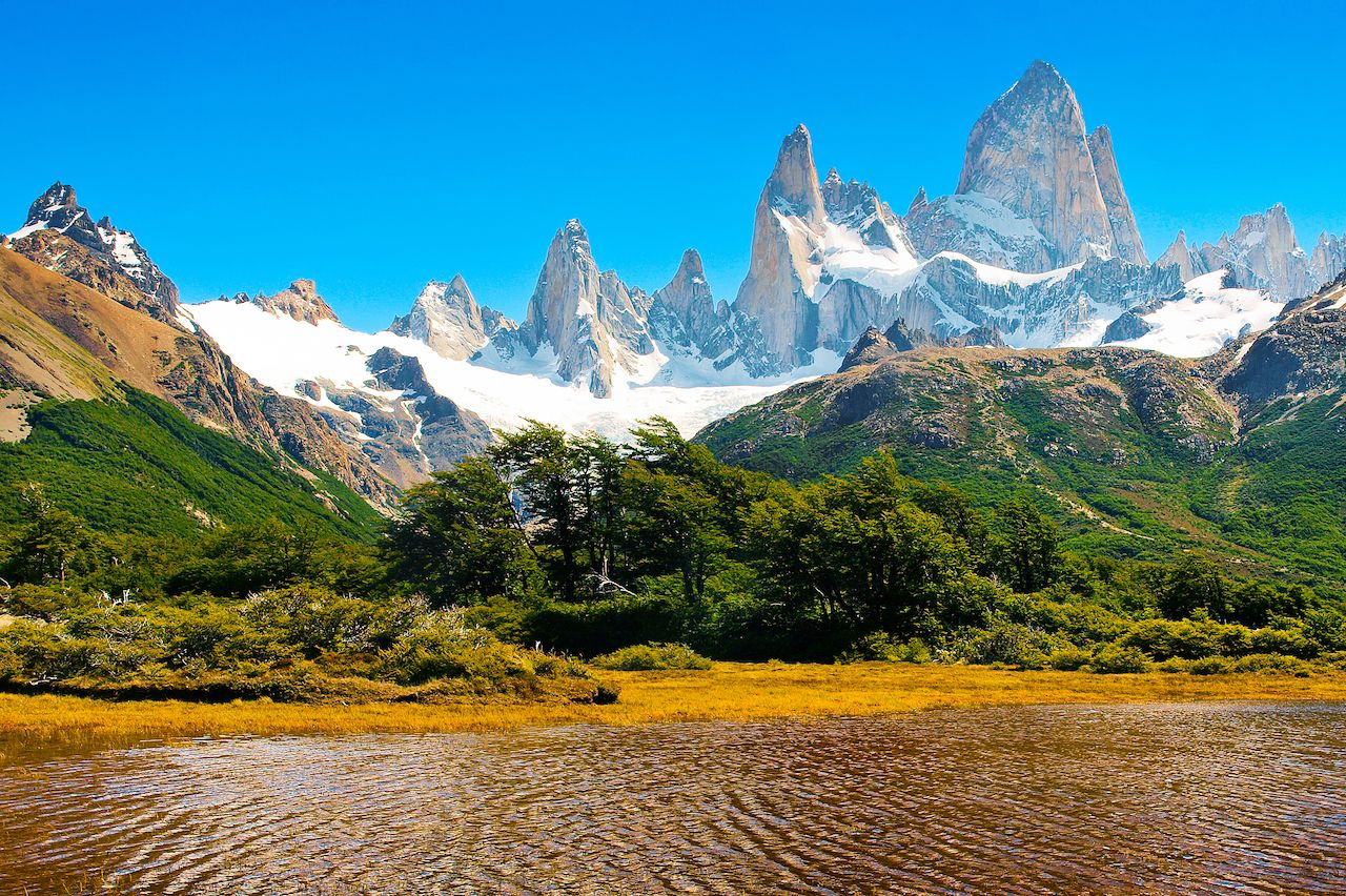 Argentina lake and wilderness