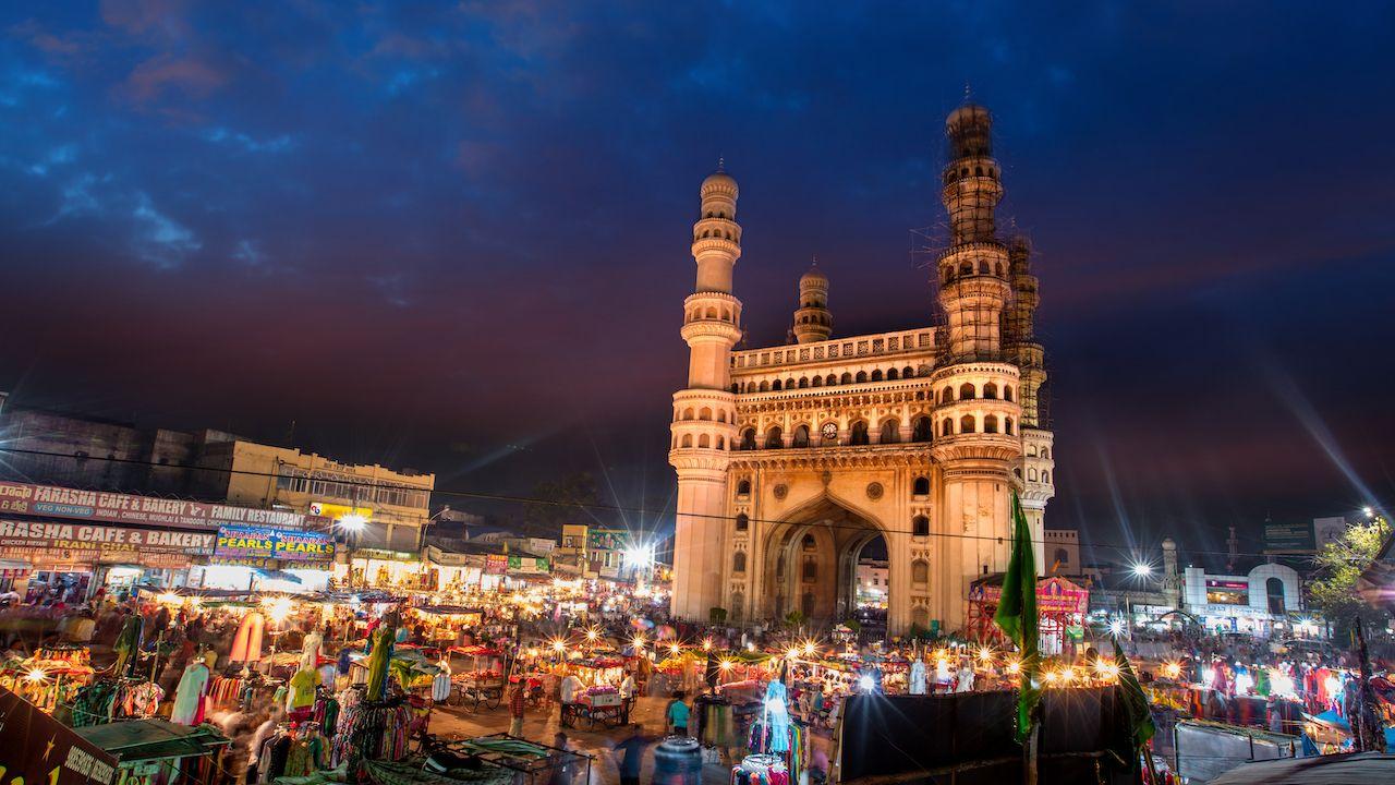 Charminar in Hyderabad, India
