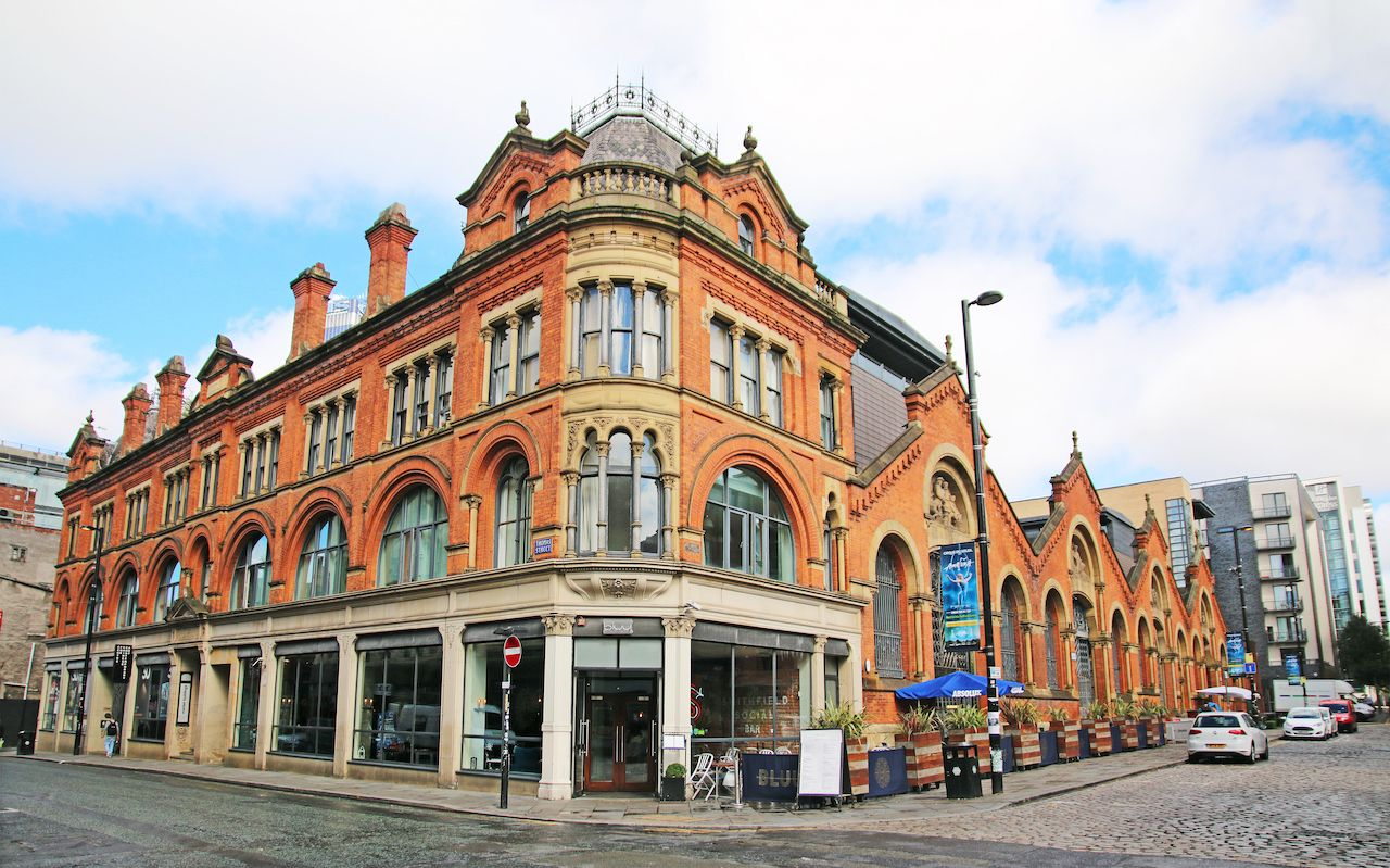 Commercial building in Manchester's Northern Quarter
