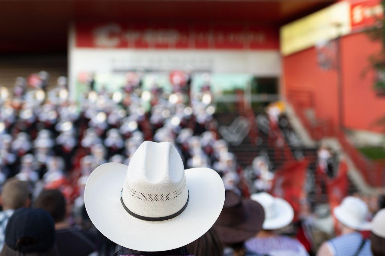 Cowboy hat at Calgary Stampede