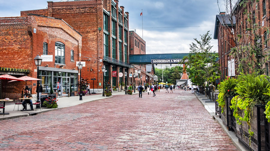 Toronto's Distillery District is the ultimate hub for craft culture