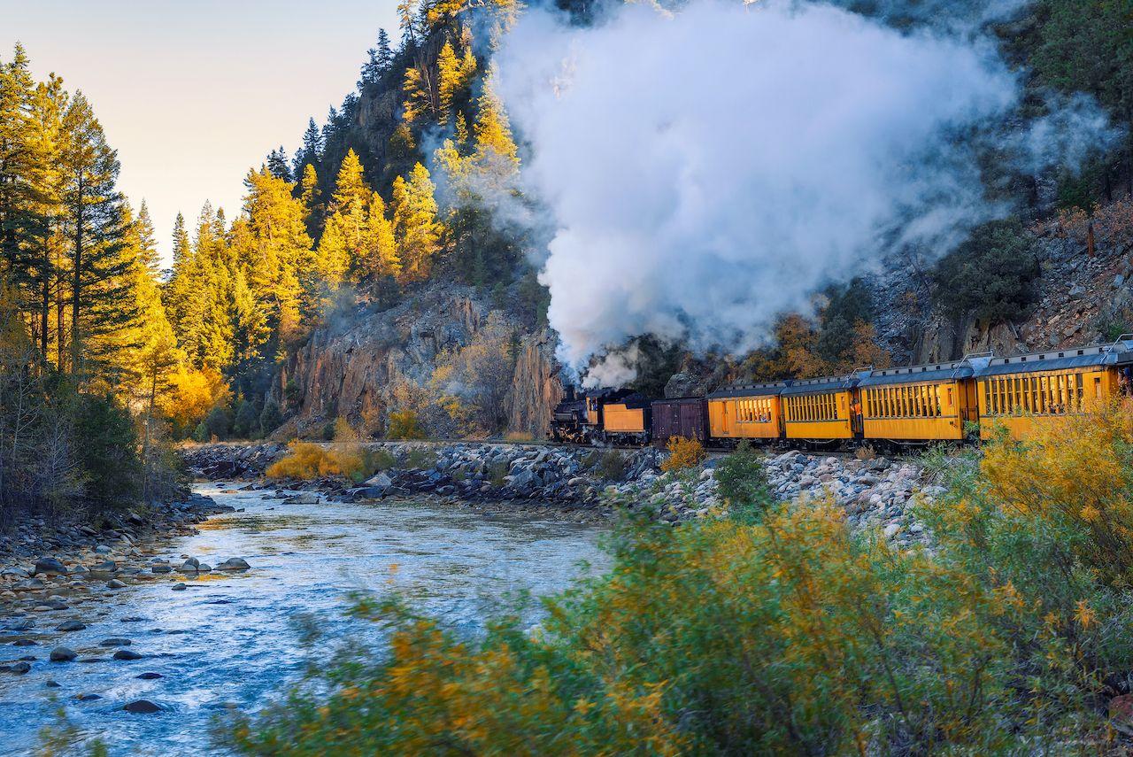 Durango and Silverton Narrow Gauge Railway, Southwest Colorado