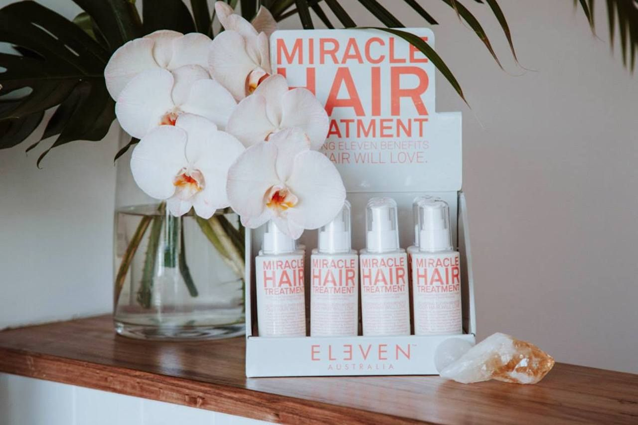 Eleven hair products