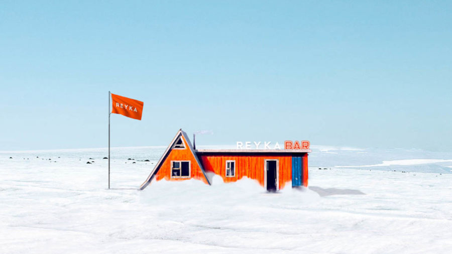 'World's First' glacier bar opens in Iceland