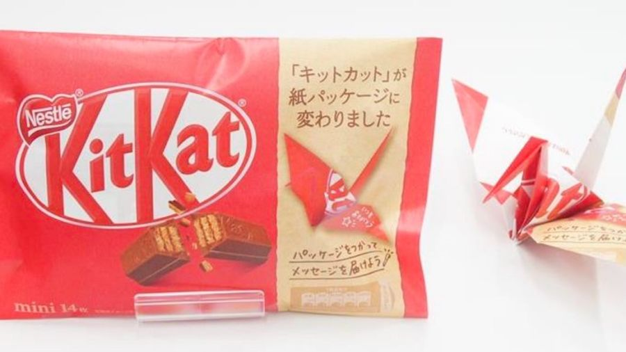 Nestlé Japan is dumping plastic KitKat packaging for origami paper