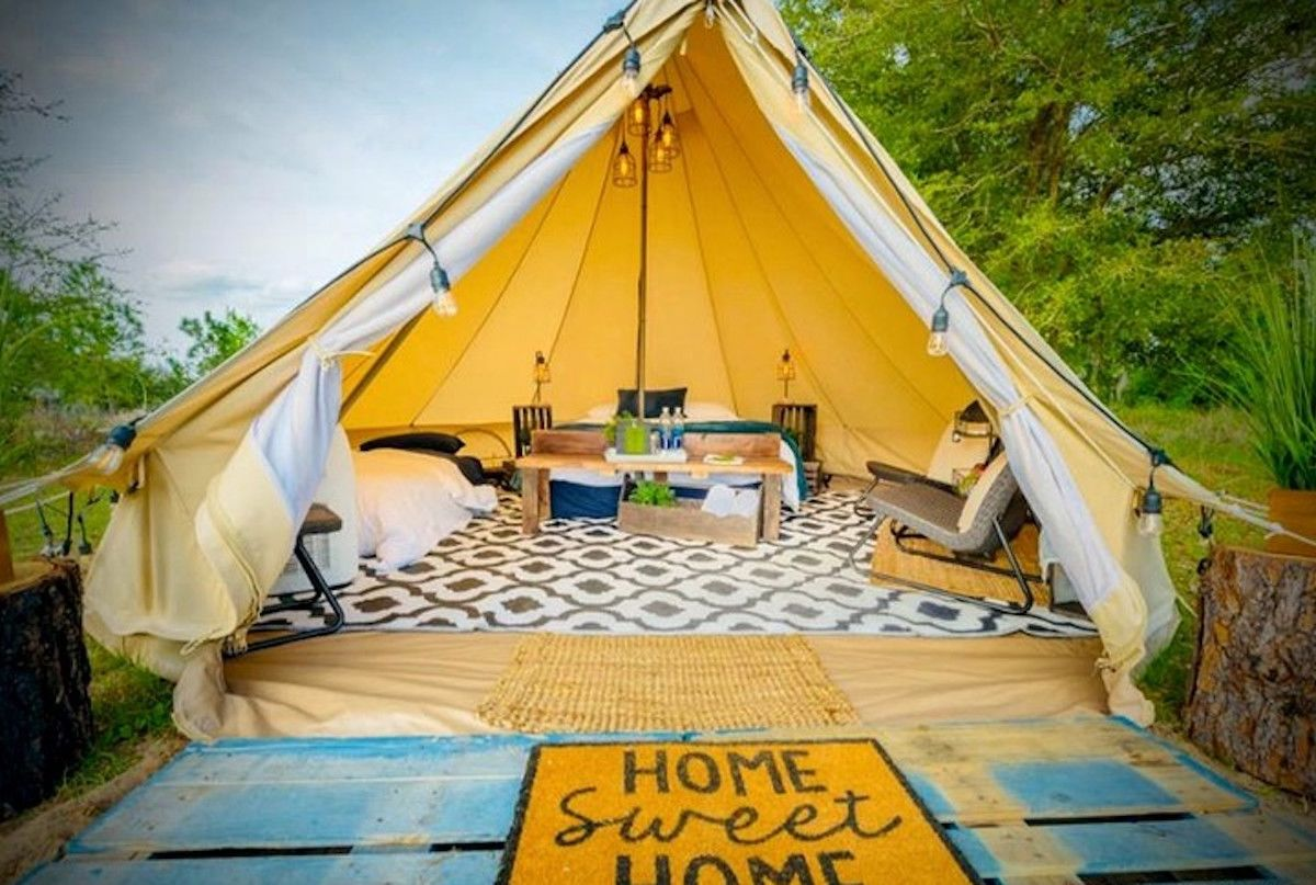 The best glamping and camping spots