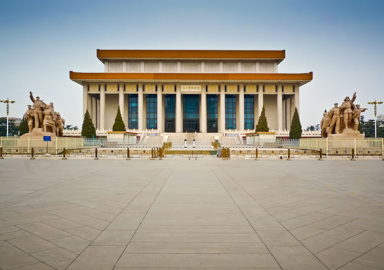 Chairman Mao Memorial Hall or Mausoleum of Mao Zedong