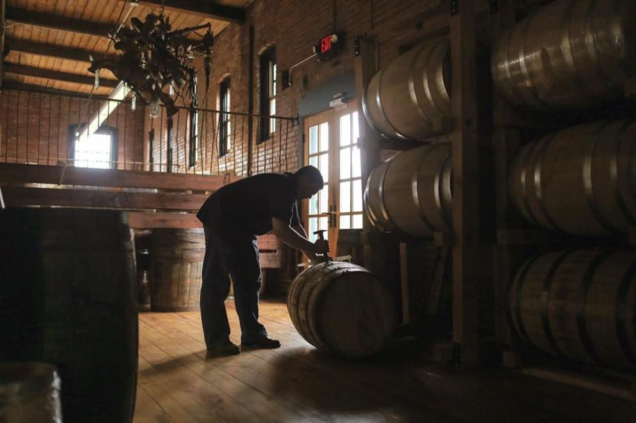 New Liberty Distillery inside