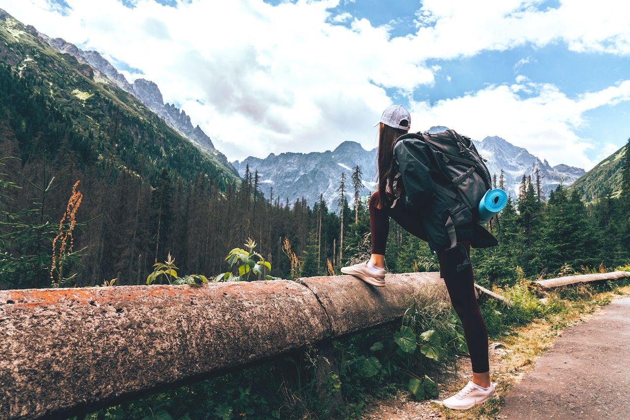 Don't wear leggings on a hike