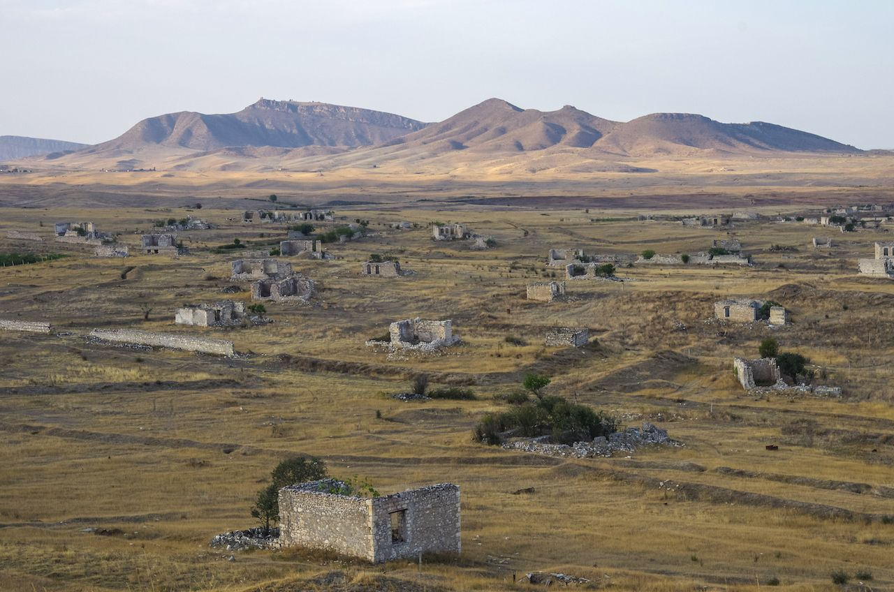 Ruins of Agdam