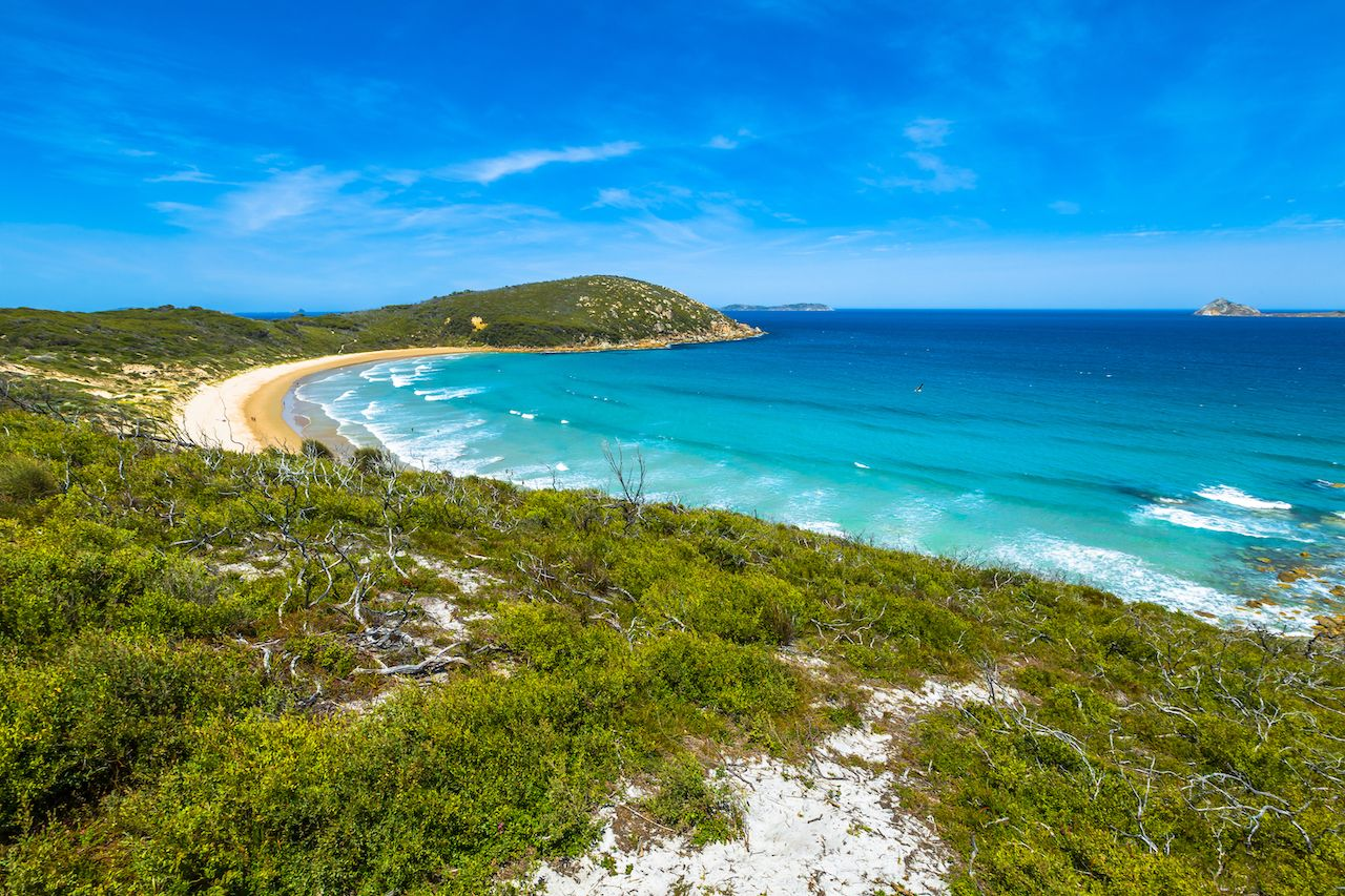 Squeaky Beach in Wilsons Promontory National Park, Victoria, Australia