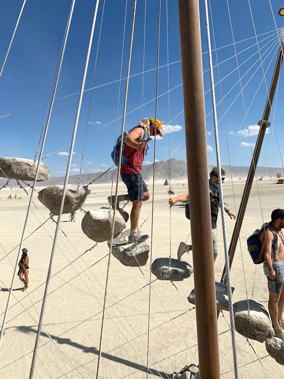 Stone 27 Art installation Burning Man 2019