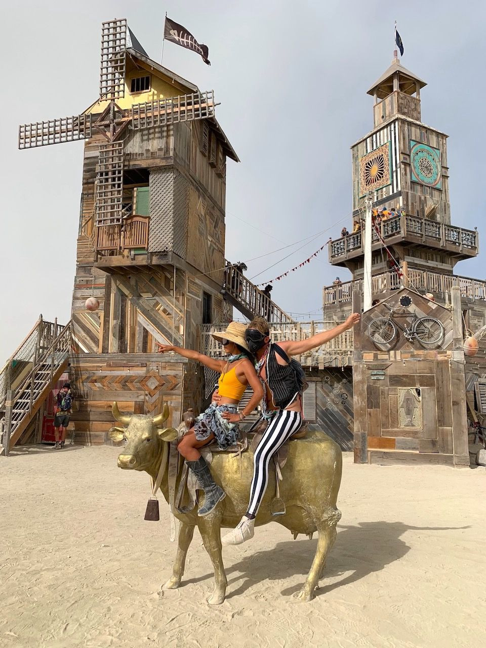 The Folly art installation Burning Man 2019