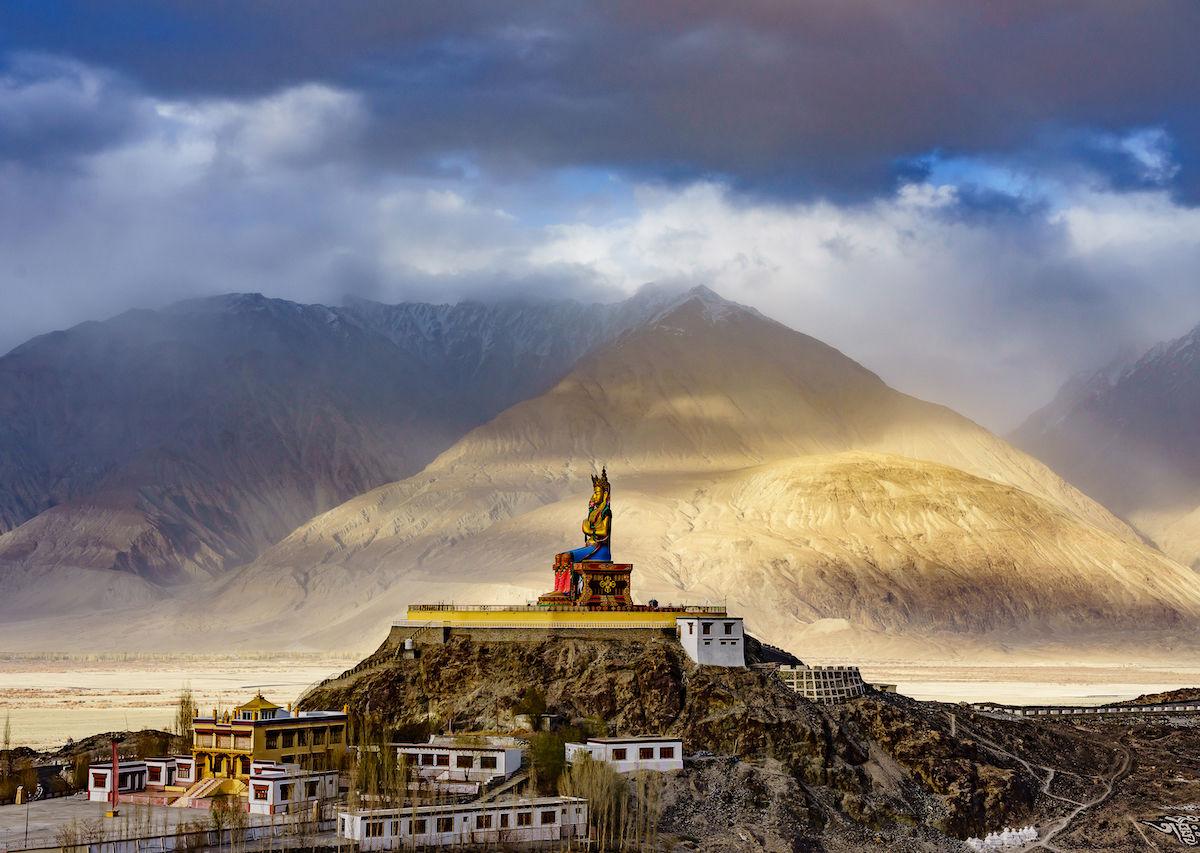 beautiful in monasteries Ladakh, Most India