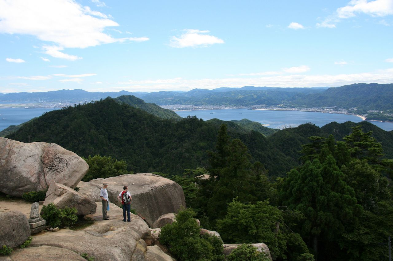 Top of Mt Misen, Miyajima, Japan