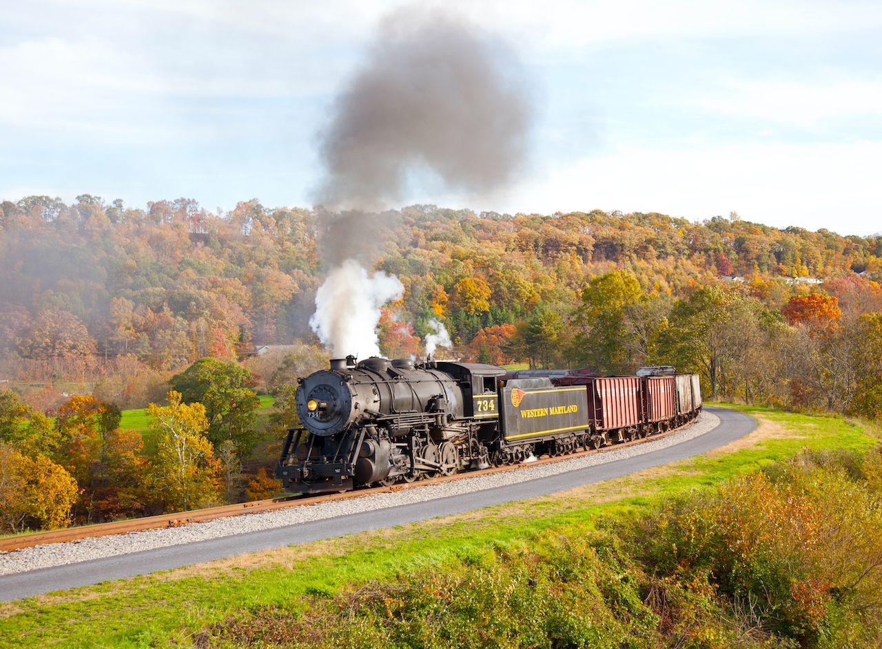 Western Maryland Scenic Railroad, Cumberland, Maryland