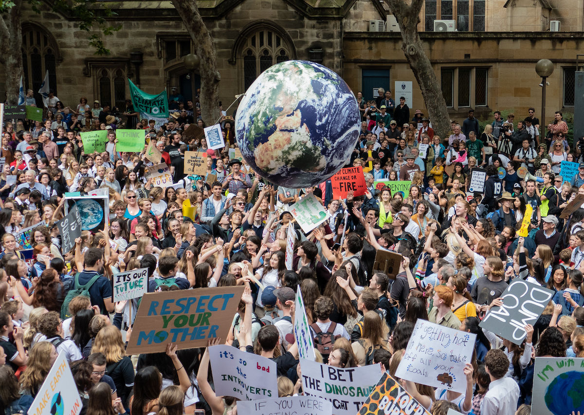 Millions march for Global Climate Strike