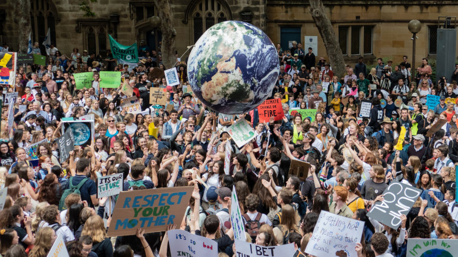 Millions around the world march in Global Climate Strike