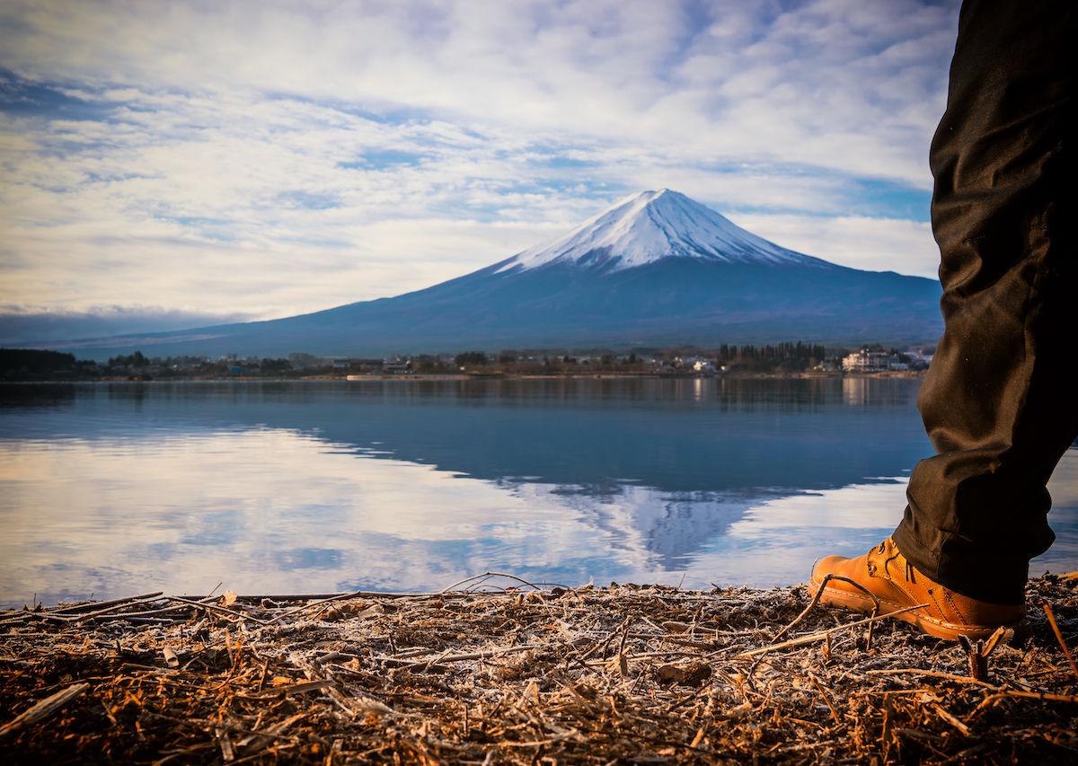 Spiritual hikes in Japan
