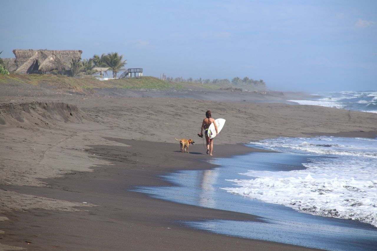 The best surfing in Guatemala