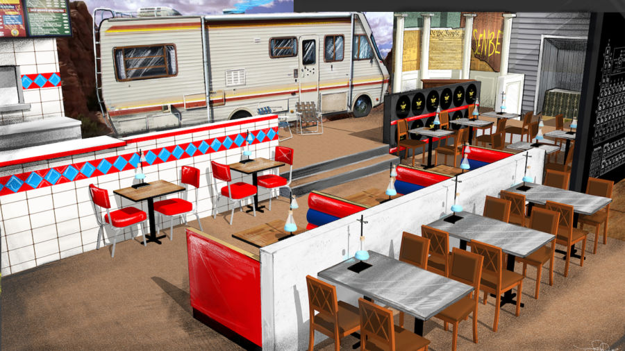 A Breaking Bad pop up is headed to LA, right in time for the opening of 'El Camino'