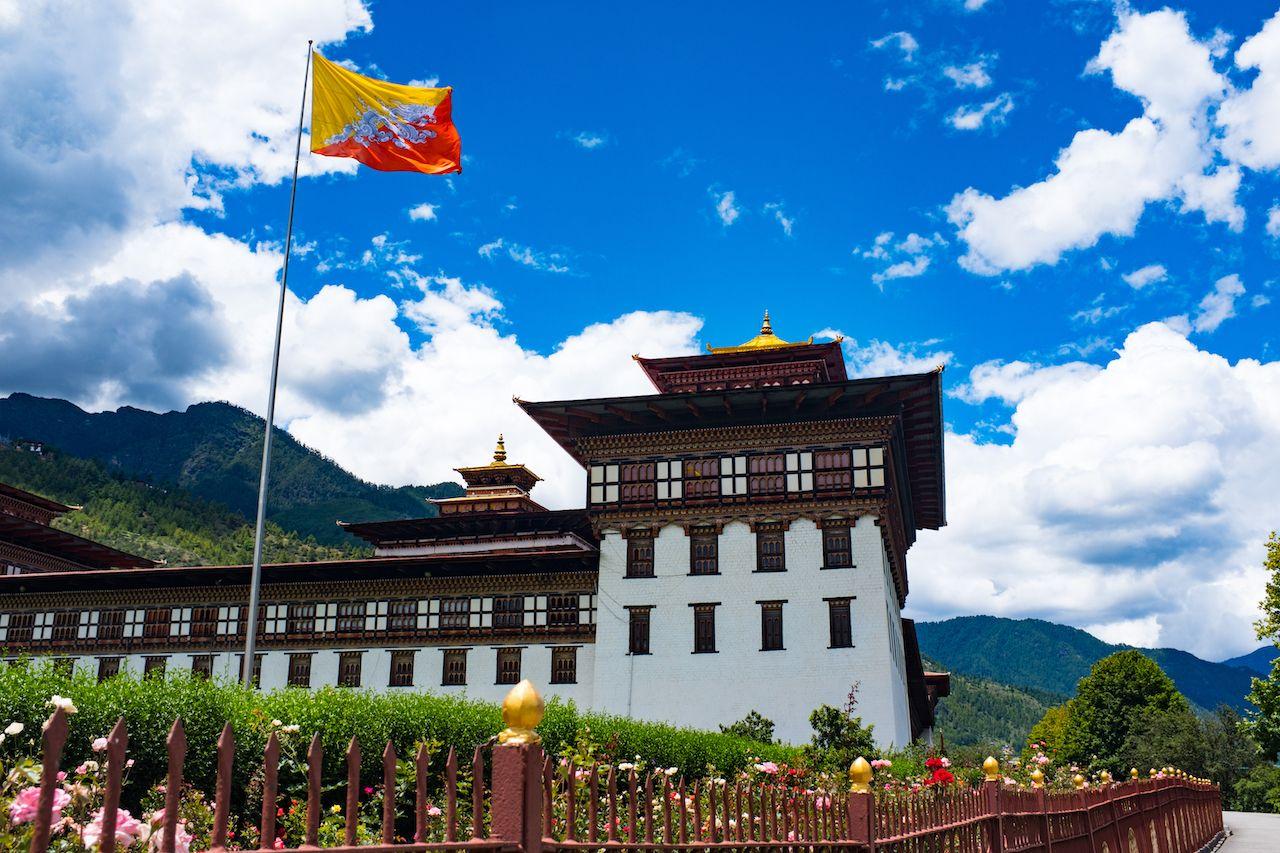 Building in Bhutan