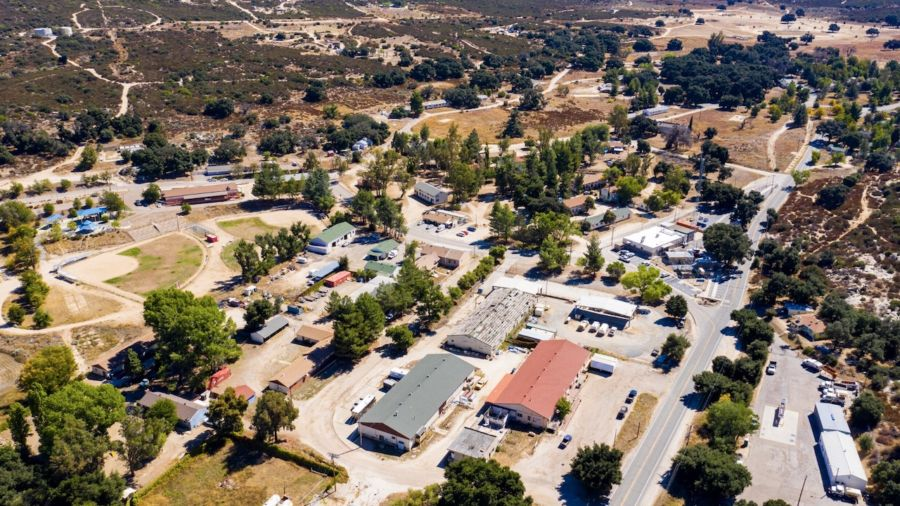 An entire town in Southern California is up for sale