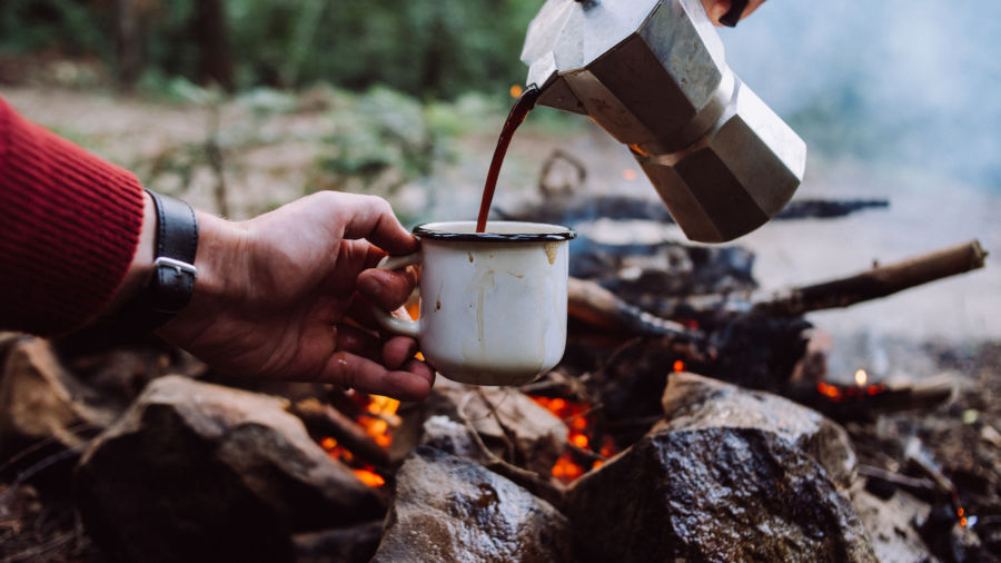 The best ways to make coffee while camping, according to experts