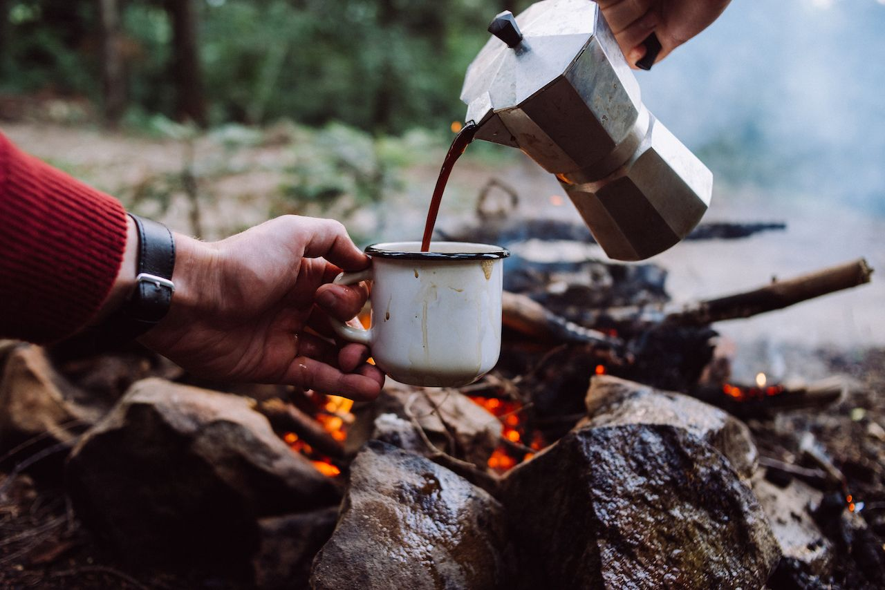 Best ways make coffee while camping