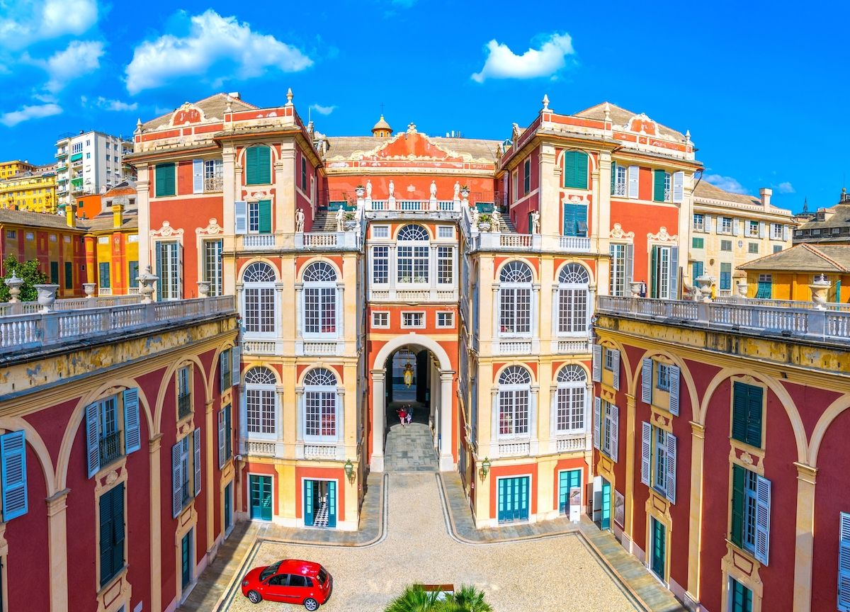 Genoa, Italy, has over 150 palaces. These are the 7 most beautiful.