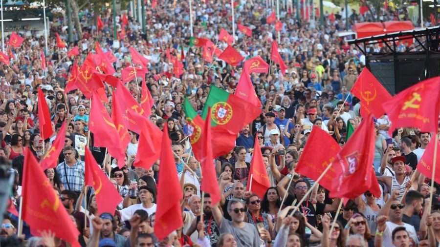 Portugal's largest communist festival is more party than partisan