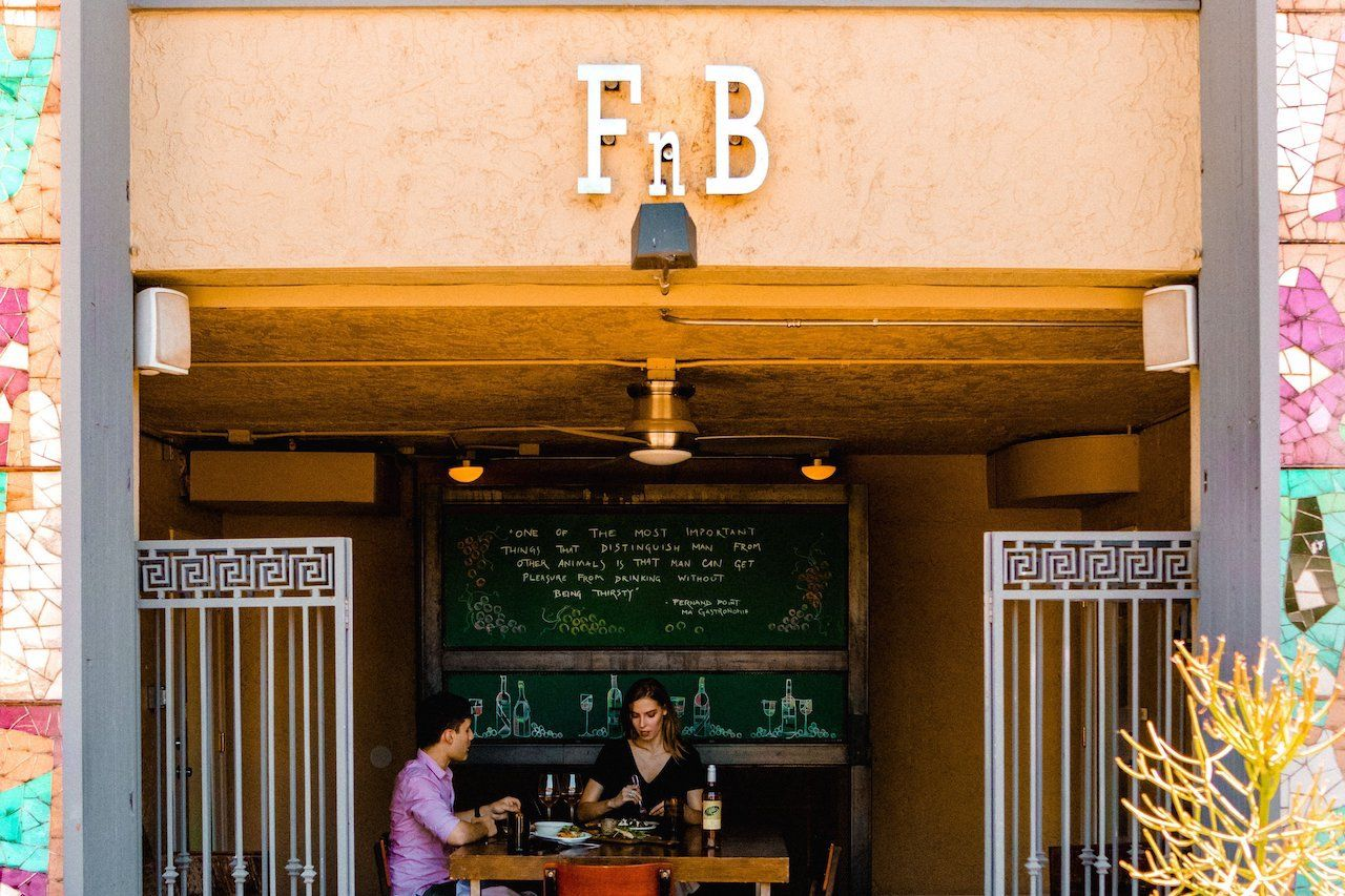 FnB restaurant in Old Town Scottsdale