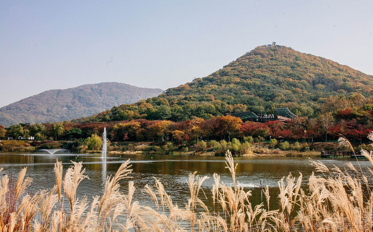 Grand Park in South Korea