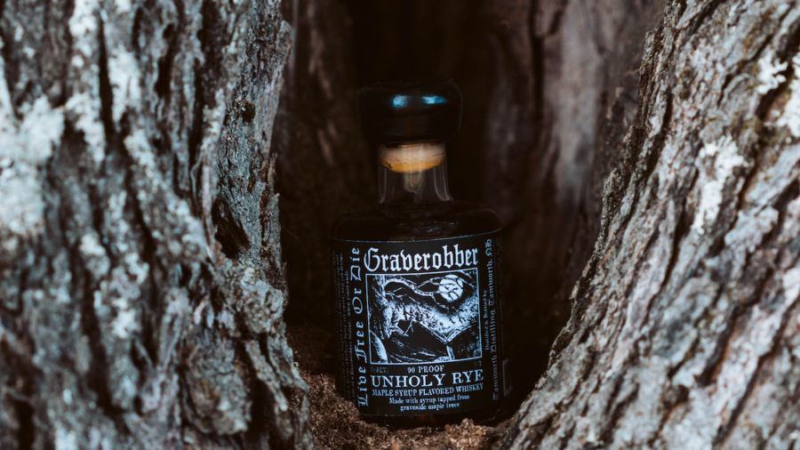 This cursed whiskey uses maple syrup tapped from a graveyard