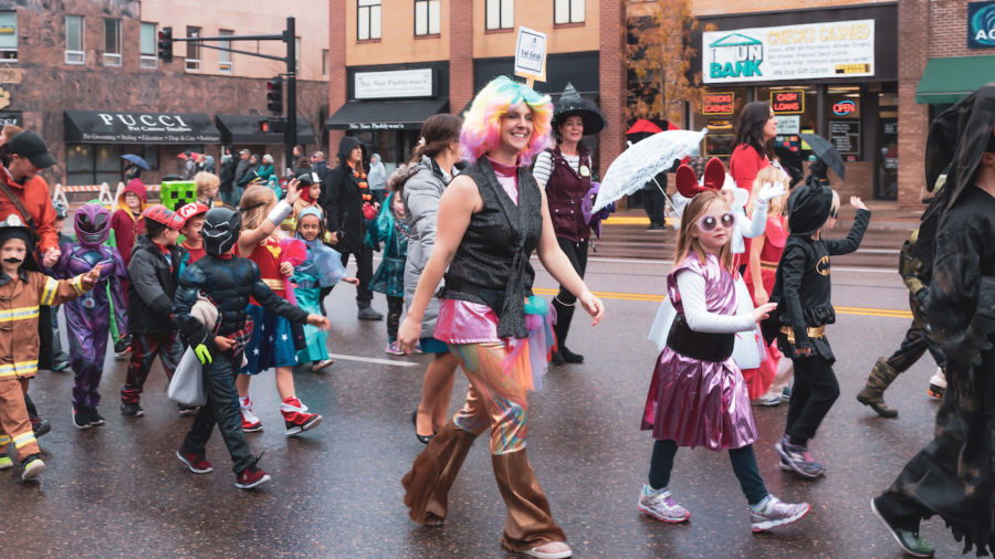 The self-proclaimed 'Halloween Capital of the World' didn't actually host the first Halloween parade