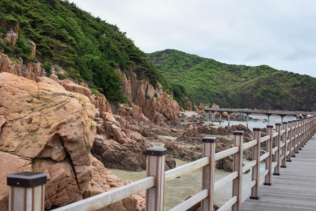 Hangae beach