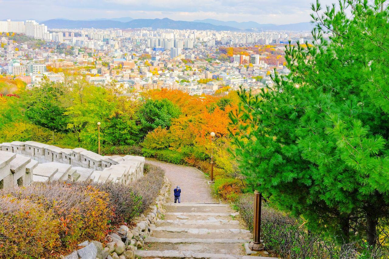 Naksan Park, Seoul