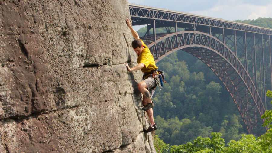 The ultimate guide to rock climbing West Virginia's New River Gorge